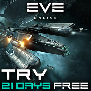 Try EVE Online for 21 days for free.