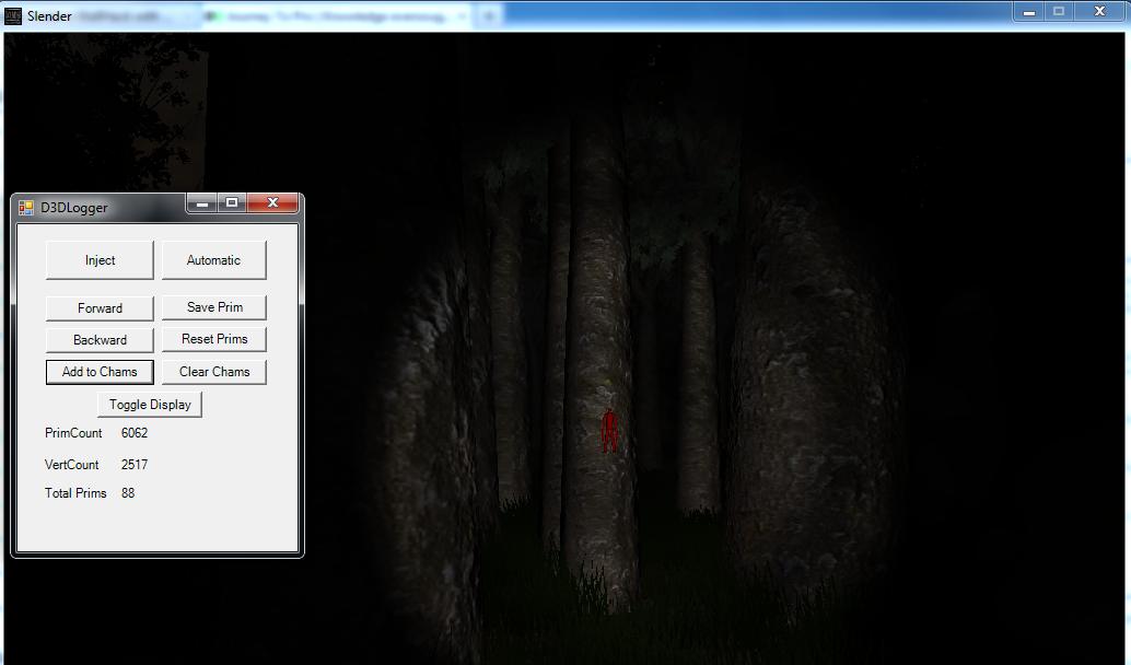 D3DTextureLoggerClient - Simple Primitive Logging Utility for Chams